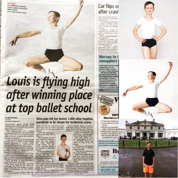 Louis is flying high